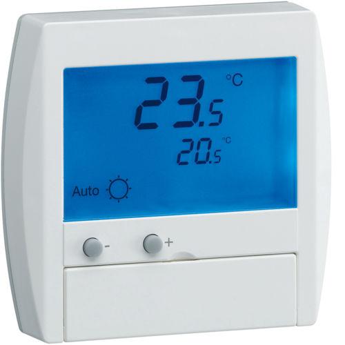 Termostato digital / empotrable de pared / para calefacción por suelo radiante 25120 Hager