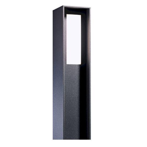 bolardo de iluminación urbano / moderno / de aluminio / de fibra acrílica