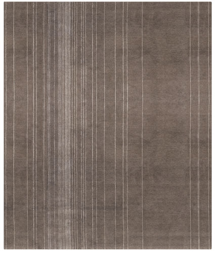 alfombra moderna / de rayas / de lana / de seda