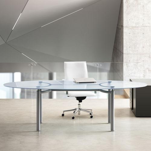 escritorio de director / de madera / de metal / de vidrio
