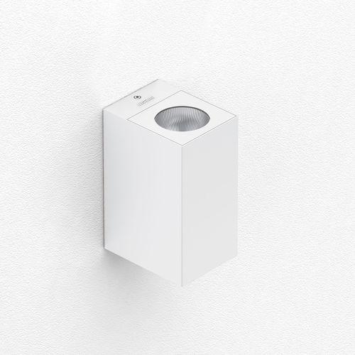 aplique moderno / de aluminio / LED / rectangular