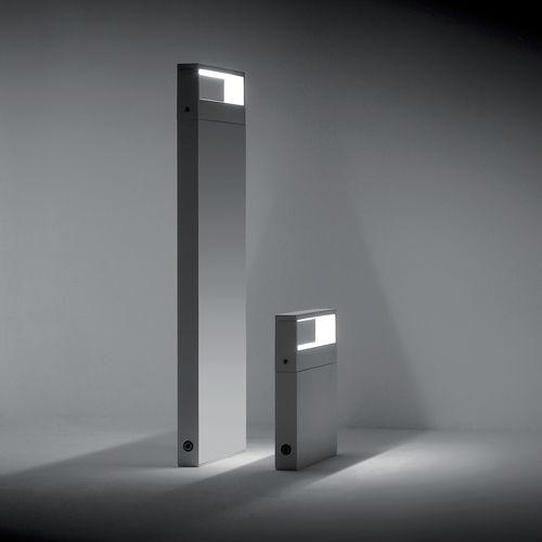 bolardo de iluminación de jardín / moderno / de aluminio / LED