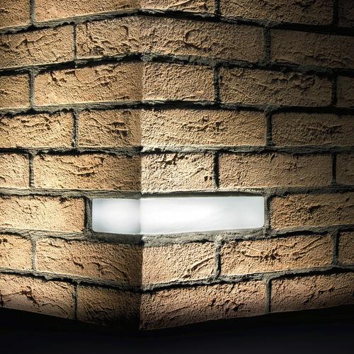 luminaria empotrable / LED / rectangular / de exterior