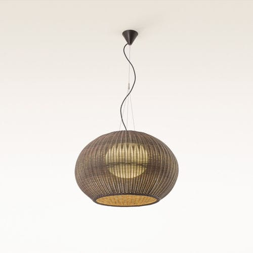 lámpara suspendida / moderna / de fibras sintéticas / de polietileno