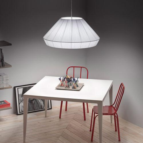 Lámpara suspendida / moderna / de hierro / fluorescente compacta MEI 125 by Joana Bover BOVER Barcelona