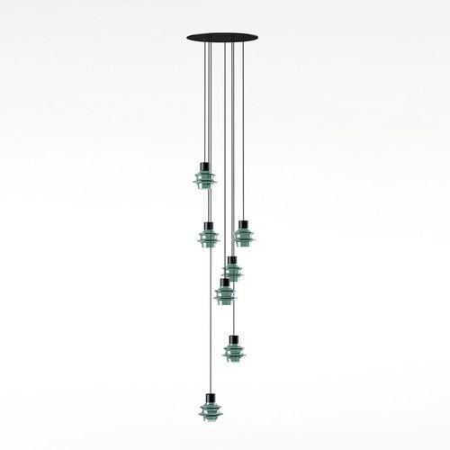 Lámpara suspendida / moderna / de vidrio soplado / de vidrio borosilicato DROP S/07L by Christophe Mathieu  BOVER Barcelona