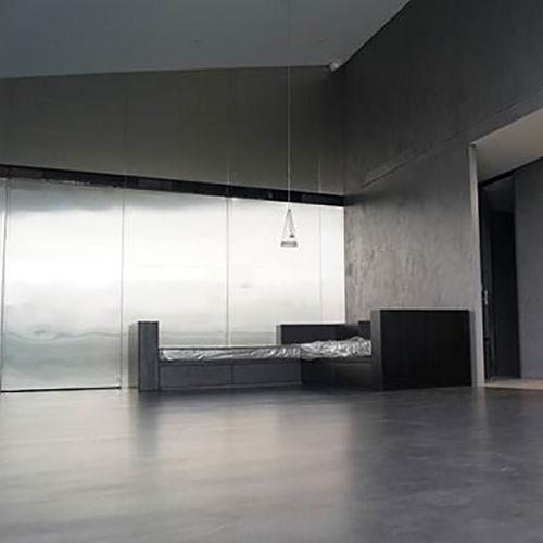 enlucido decorativo / para muro / de suelo / polímero