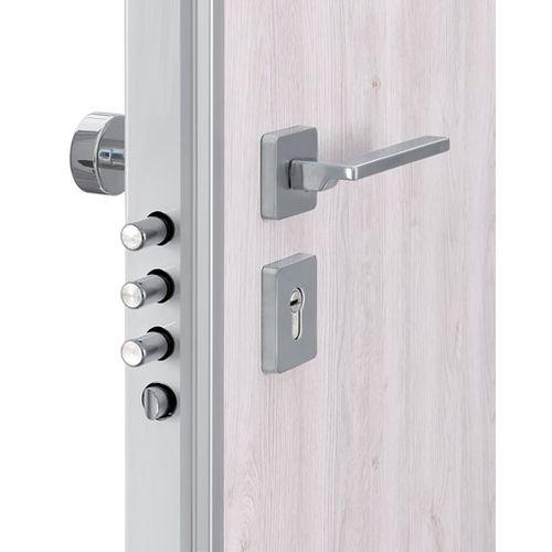 cerradura mecánica / para puerta / con asidero / con cadena