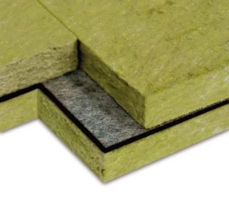 aislante térmico / acústico / de lana de roca / de pared