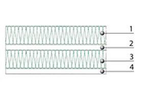 aislante acústico / de lana de roca / de pared / tipo panel rígido