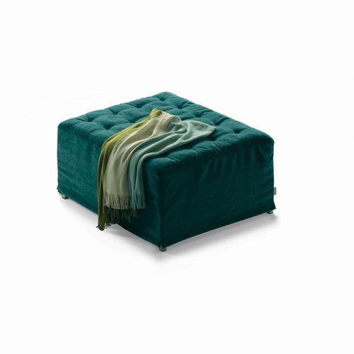 otomana Art Deco / de tejido / cama / de interior