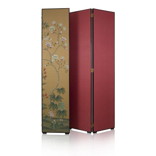 Biombo clásico / de textil IMPERIAL GARDEN Misha handmadewallpaper