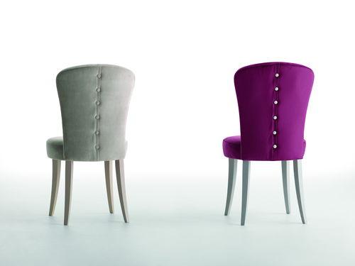 silla moderna / tapizada / de tejido / profesional