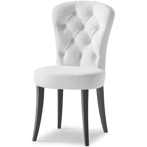 silla de restaurante moderna / de madera maciza