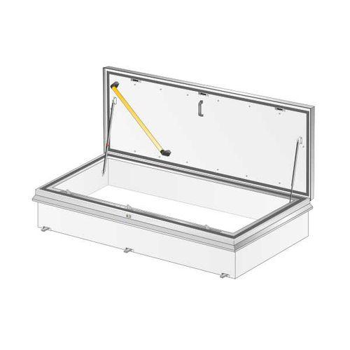 trampilla de inspección para techo / rectangular / de corte térmico / de aluminio