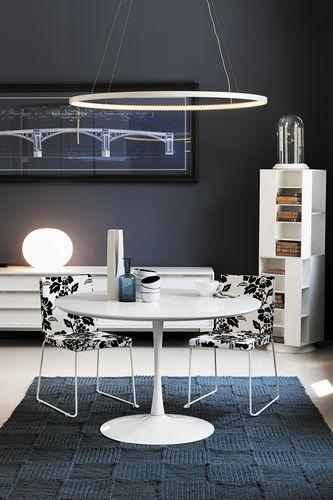 Mesa de comedor / moderna / de vidrio / de vidrio templado FLUTE Target Point New