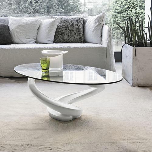 Mesa de centro / moderna / de vidrio / de vidrio templado TANGO Target Point New