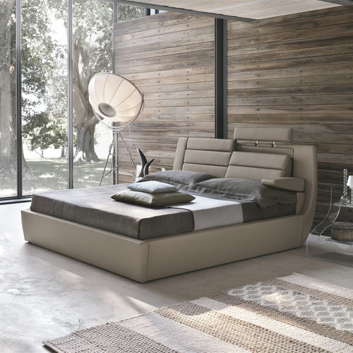 Cama doble / extragrande / moderna / de tela ROMA Target Point New