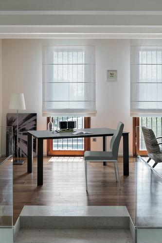 Mesa de comedor / moderna / de gres porcelánico / de material laminado SATURNO 160 Target Point New