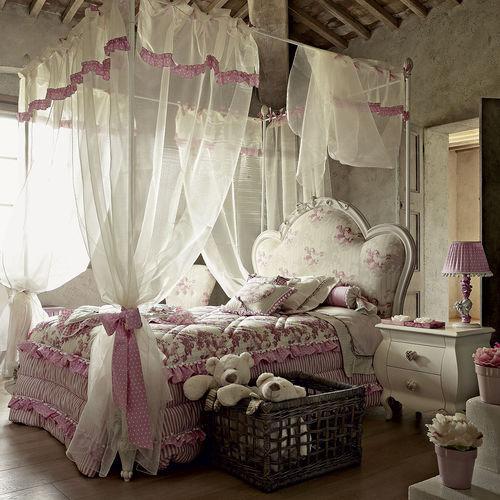 cama con dosel / de soltero / de estilo / para niña