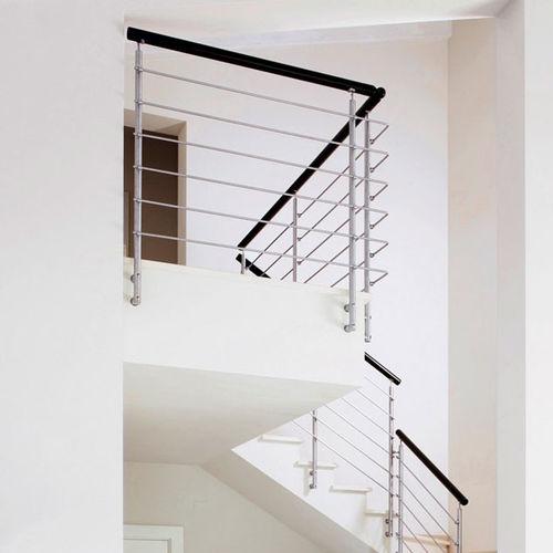 balaustrada de vidrio / de interior / para escalera