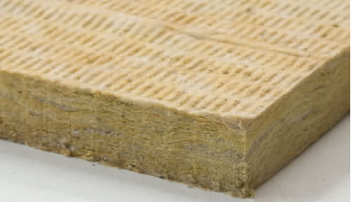 aislante térmico / de lana de roca / mineral / tipo panel