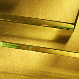 Panel de vidrio de protección contra rayos X / para puerta / para ventana / laminado RD 50® SCHOTT AG