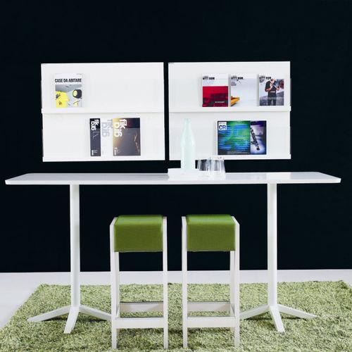taburete de bar moderno / de roble / de abedul / tapizado