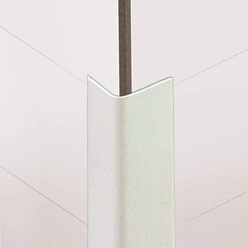 perfil de acabado de PVC / para ángulo exterior / para tabique