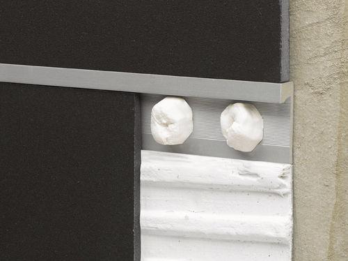 perfil de separación de aluminio / para baldosas