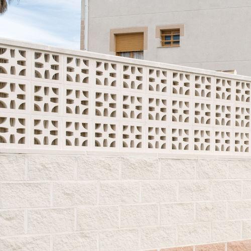 bloque de celosía de hormigón / de jardín / para terraza