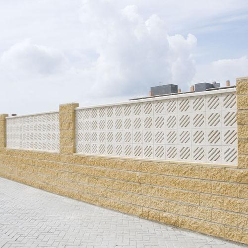 bloque de celosía de hormigón prefabricado / de jardín / para terraza