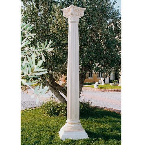 columna de hormigón / prefabricada / decorativa