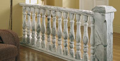 balaustrada de mármol / de exterior / para terraza