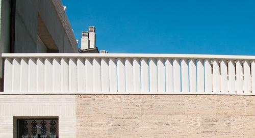 balaustrada de piedra reconstituida / de exterior / para balcón / para terraza