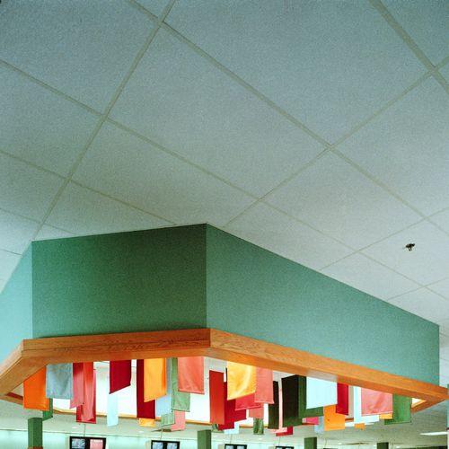 Falso techo de fibra de vidrio / tipo panel / acústico HI-LITE™ USG