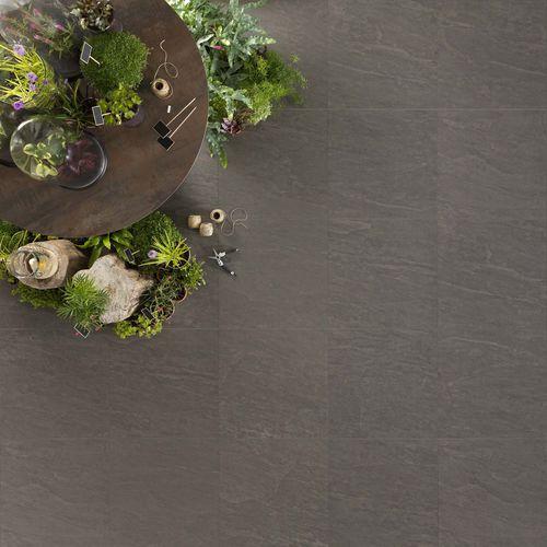 Baldosa de exterior / de pared / de suelo / de gres porcelánico KOBE : GRAPHITE Novoceram sas
