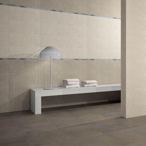 Baldosa de interior / de pared / de suelo / de gres porcelánico TALM : IVOIRE Novoceram sas
