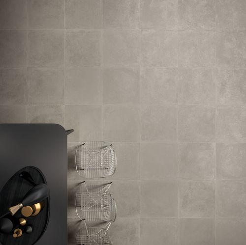 Baldosa de interior / de pared / de suelo / de gres porcelánico TANGO : CIMENT Novoceram sas