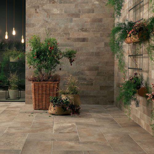Baldosa de exterior / de pared / de suelo / de gres porcelánico GEO : SABLÉ Novoceram sas
