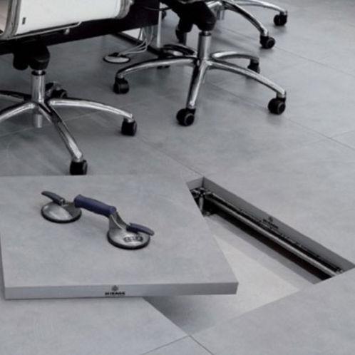 Panel para suelo técnico de gres porcelánico / a prueba de calor PTS Mirage Granito Ceramico