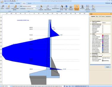 Programa de cálculo de muros de contención / para estructura de hormigón MDC GEOSTRU