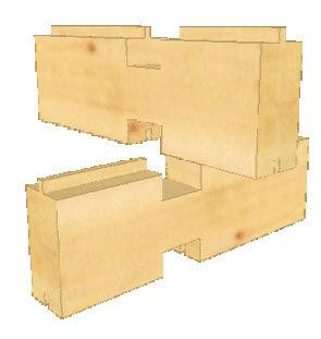 Programa de análisis estructural / para estructura de madera / 2D VISKON - LOGS MODUL   WETO AG 3 D CAD-CAM