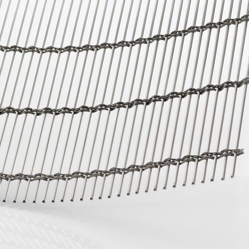 Malla metálica de revestimiento / para revestimiento interior / para pantalla solar / para techo TIGRIS GKD - Gebr. Kufferath AG