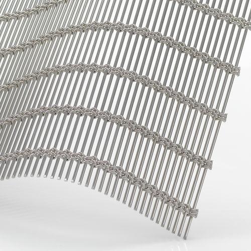 Malla metálica de revestimiento / para revestimiento interior / para pantalla solar / para techo SAMBESI 450 GKD - Gebr. Kufferath AG