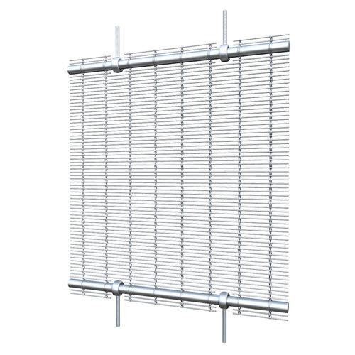 Sistema de fijación corredero / acero inoxidable / para revestimiento de fachada / para revestimiento interior ROUND ROD EYEBOLT GKD - Gebr. Kufferath AG