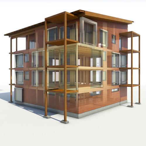 Programa de gestión de proyectos / de gestión de obra / para estructura de madera / 3D BIM Metsäwood