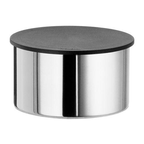 caja de almacenamiento para cuarto de baño / con tapa