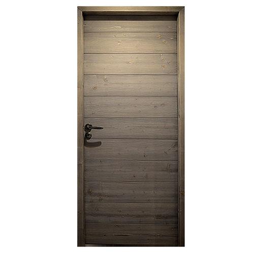 puerta de interior / abatible / de roble / de nogal