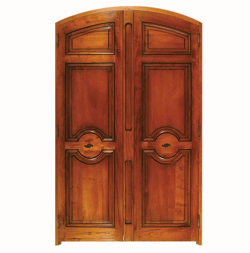 puerta para armario / abatible / de roble / de nogal